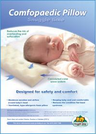 Snuggle Time Comfopaedic Safety Pillow