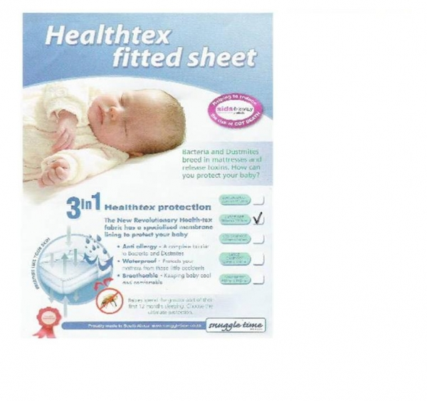 Healthtex Fitted Sheet