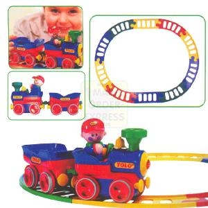 Tolo Toys Train Set First Friends