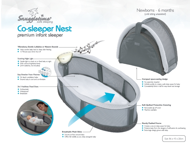 Co Sleeper Nest Product View The Baby Shoppe Your