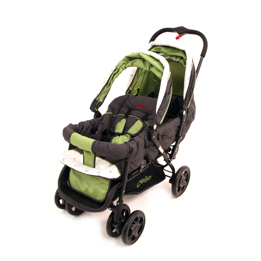 Chelino Tandem Twin Stroller Product View The Baby